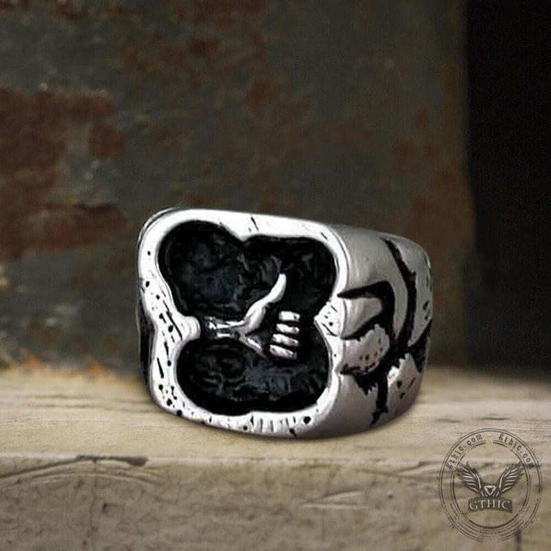 "Thumbs Up Stainless Steel ""Like"" Ring"