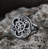 Trinity Celtics Knot Stainless Steel Viking Ring | Gthic.com