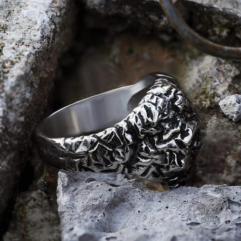 Unique Stainless Steel Skull Ring