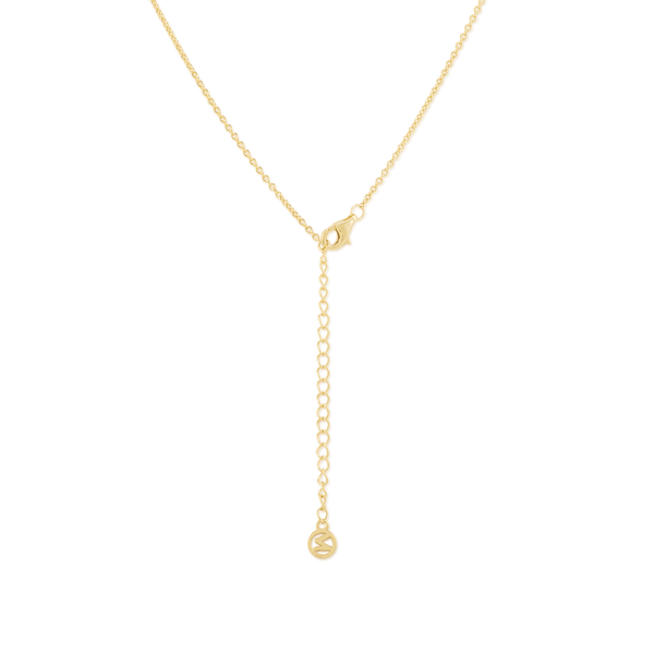 Gemini Necklace 14k Gold