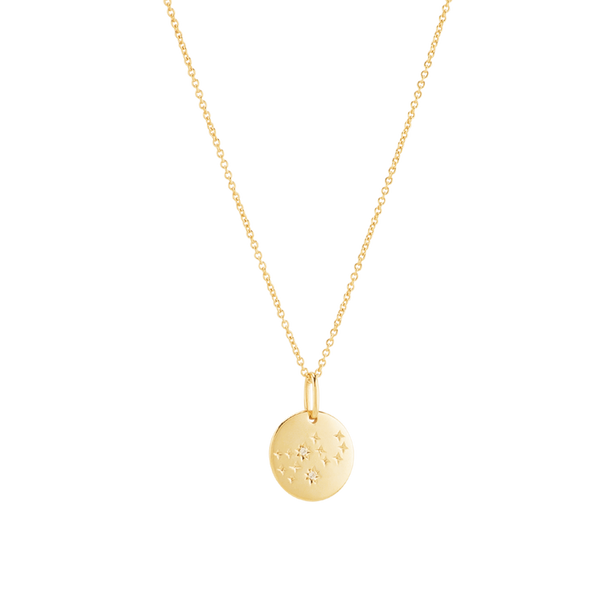 Virgo Necklace Vermeil