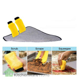 3-In-1 Silicone Sponge - parties4ever