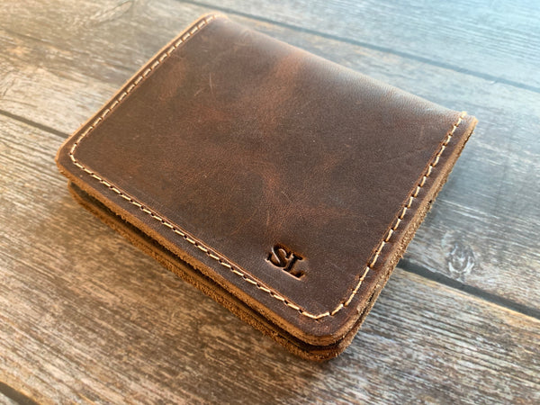 The Jefferson Bifold Fine Leather Wallet
