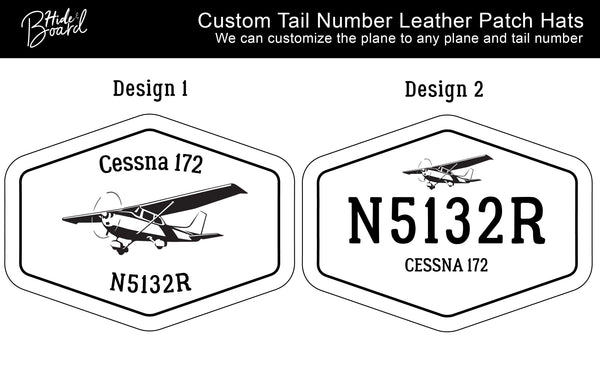 Pilot Custom Tail Number Hat