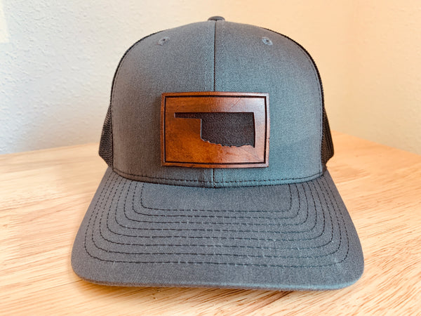Oklahoma Leather Hat