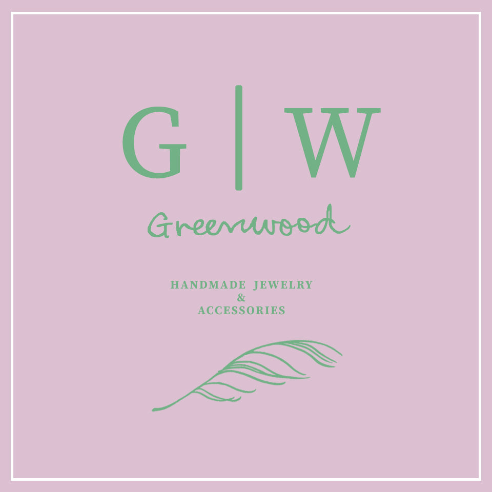 greenwood jewelry handmade accessories brooklyn logo GW