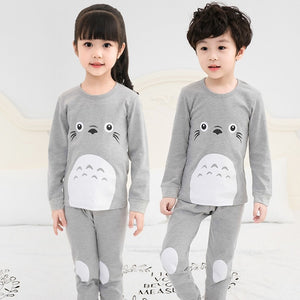2019 Kids Pajamas Set (Gray)