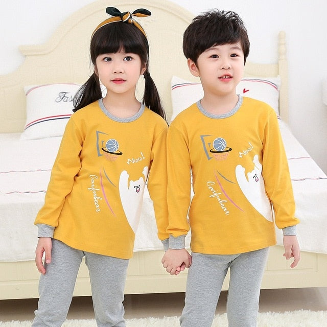 2019 Kids Pajamas Set (Polar bear)