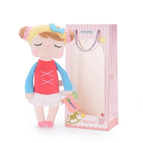 Plush Toy Angela Doll (Red)