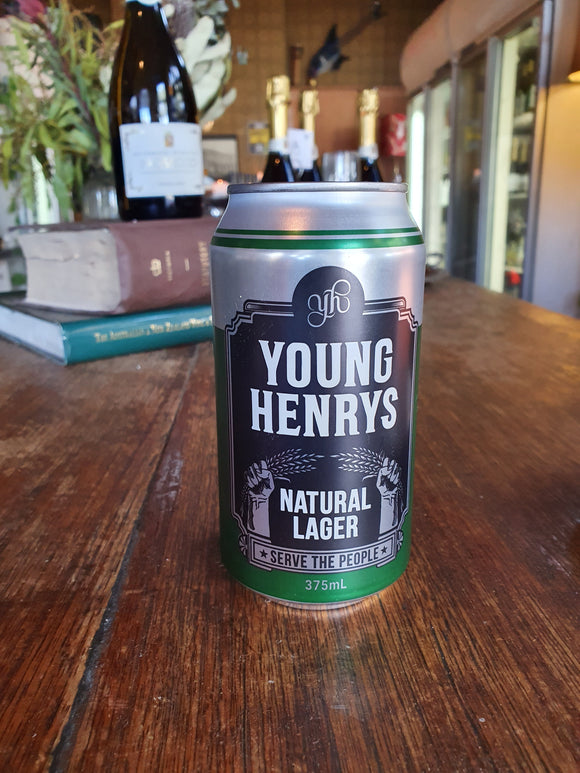 Young Henry's Natural Lager Can 375ml 4.2%