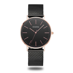 Montre Aquila - Black mesh