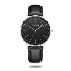Montre Perseus - Black leather