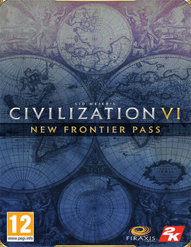 Sid Meier's Civilization VI - New Frontier Pass DLC EU Steam CD Key