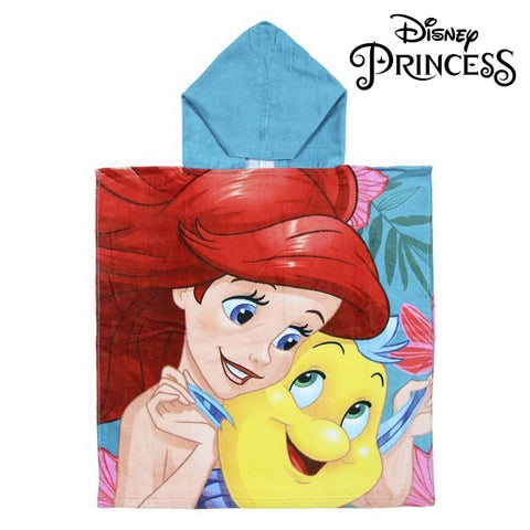 Frottéhandtuch mit Kapuze Little Mermaid Princesses Disney 74218