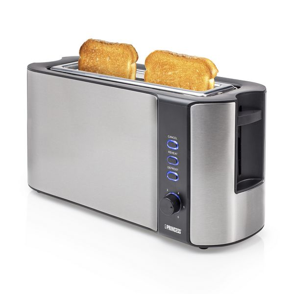 Toaster Princess 142353 1000W Grau