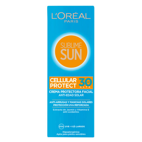 Sonnencreme Sublime Sun L'Oreal Make Up Spf 30 (75 ml)