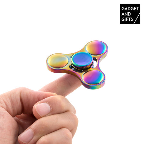 Gadget and Gifts Rainbow III Spinner