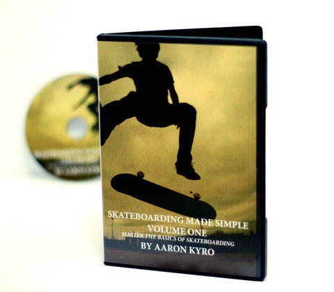 Skateboarding Made Simple DVD by Aaron Kyro