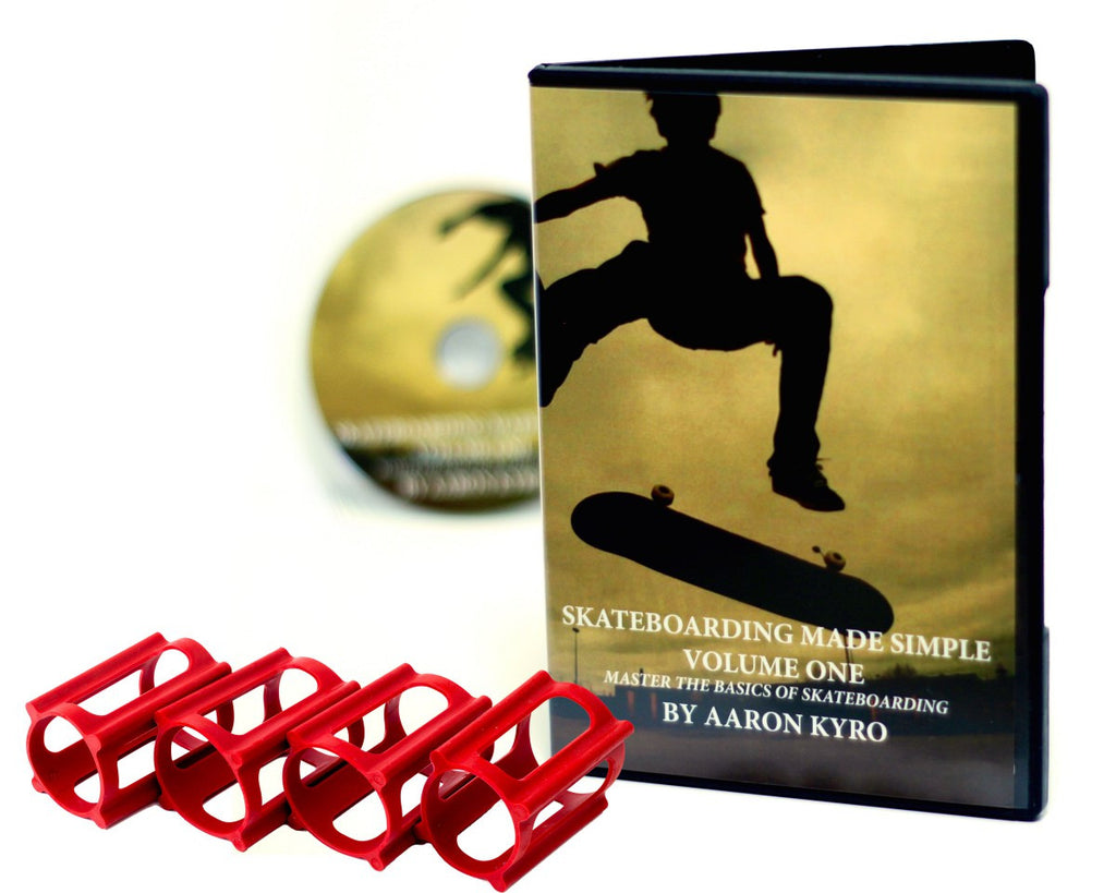 How to Skateboard Pack, SkaterTrainers+Tutorial DVD