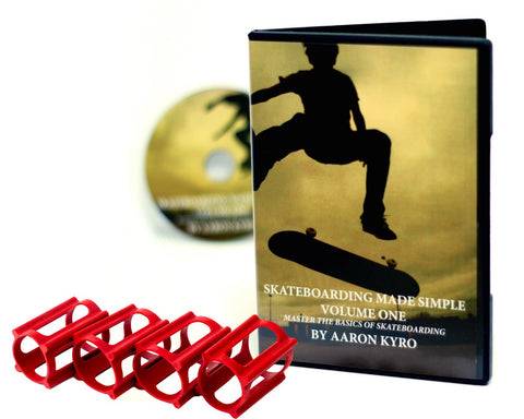 How to Skateboard Pack, SkaterTrainers+Beginner Tutorial DVD