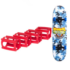 Practice Pack, SkaterTrainers+Handboard 11 Inch Mini Toy Skateboard
