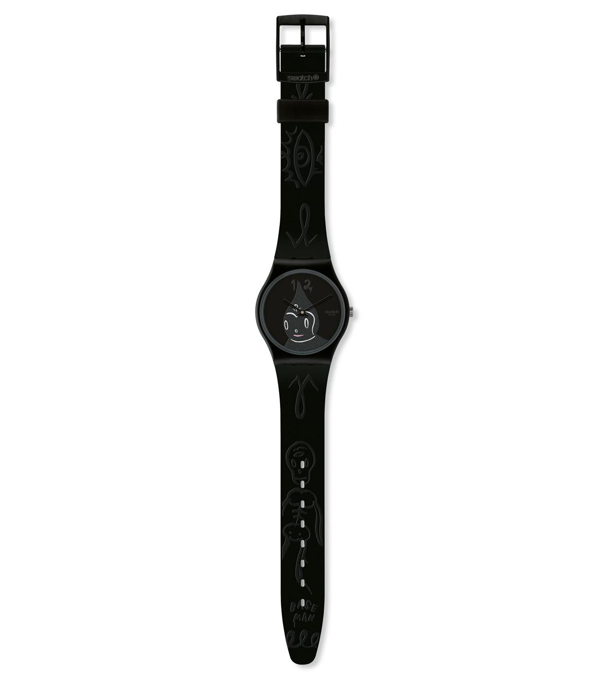 SWATCH-MIDNIGHT MAGI GB249