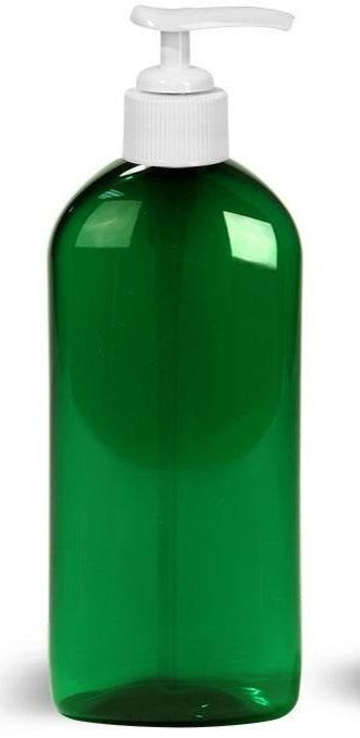 Green Plastic Lotion Pump