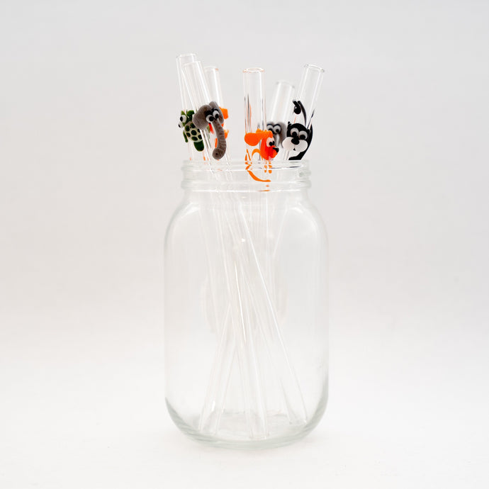 Glass Sipper Elephant