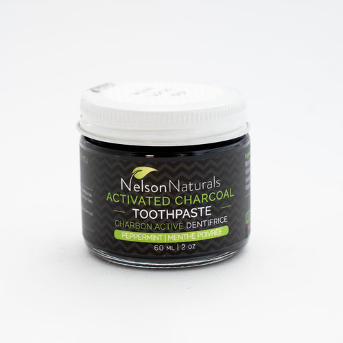 Nelson Naturals Toothpaste act charcoal Spearmint  30ml