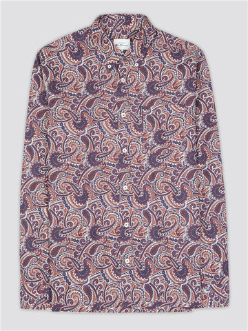 Ben Sherman Large Paisley L/S Shirt