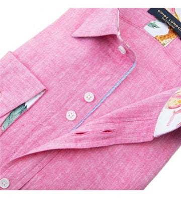 Guide London L/S Shirt Pink 75486