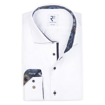 R2 L/S Shirt White - Alexanders on Tennyson