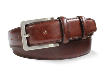 Robert Charles 1135 Brown Leather Belt - Alexanders on Tennyson
