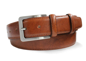 Robert Charles 1135 Tan Leather Belt - Alexanders on Tennyson