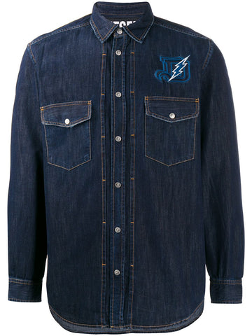 Diesel D-Bandy Denim LS Shirt - Alexanders on Tennyson