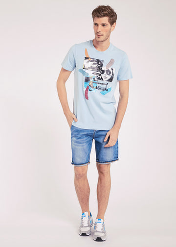 Gaudi Bermuda Denim Shorts