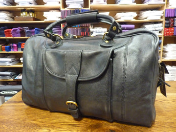 Backroad Leather Overnighter Bag - Alexanders on Tennyson