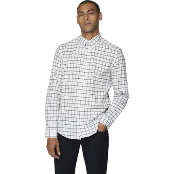 Ben Sherman Window Pane LS Shirt - Alexanders on Tennyson