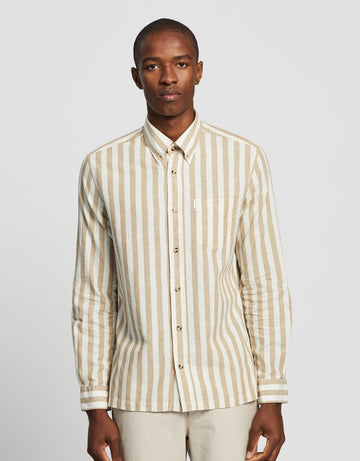 Ben Sherman Candy Stripe L/S Shirt