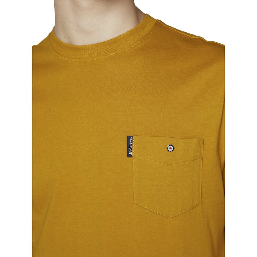 Ben Sherman Pocket T-Shirt Mustard