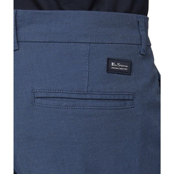 Ben Sherman Dobby Navy Trousers - Alexanders on Tennyson
