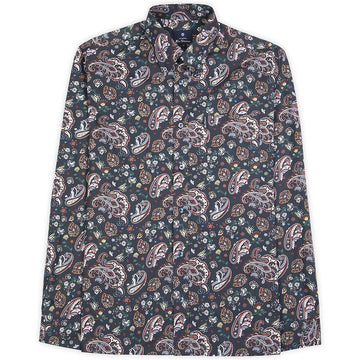 Ben Sherman LS Paisley Shirt - Alexanders on Tennyson