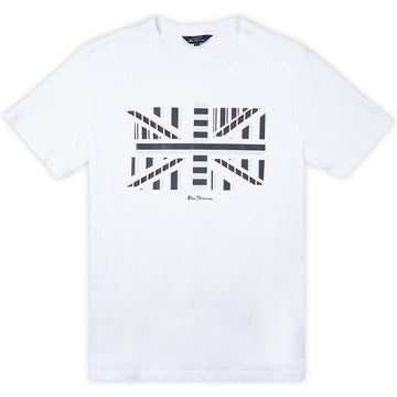 Ben Sherman Union Jack J T-Shirt - Alexanders on Tennyson