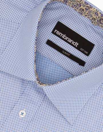 Rembrandt Blue Dot Business Shirt