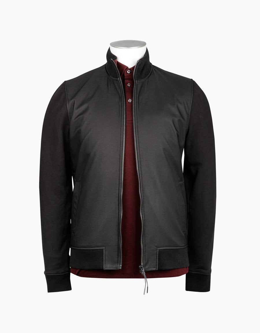 Rembrandt Kendrick Black Bomber Jacket - Alexanders on Tennyson