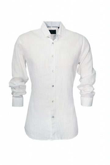 Cutler & Co Blake L/S Shirt White Linen