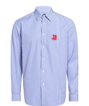 Diesel S-Moi-R Striped Shirt (Blue or Charcoal) - Alexanders on Tennyson