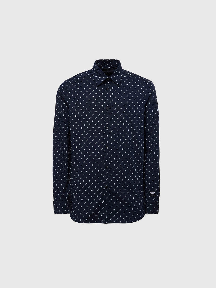 Diesel S-Riley Navy L/S Shirt VA