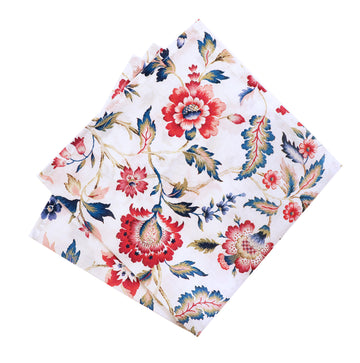 Parisian with Liberty Eva Belle Pocket Square - Alexanders on Tennyson