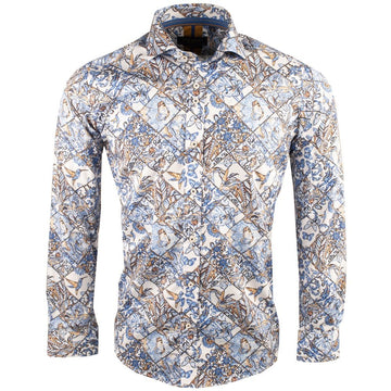 Guide London L/S Shirt Blue LS75416